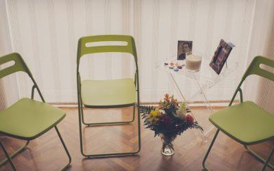 Sesión de Reiki en silla rápida y fácil