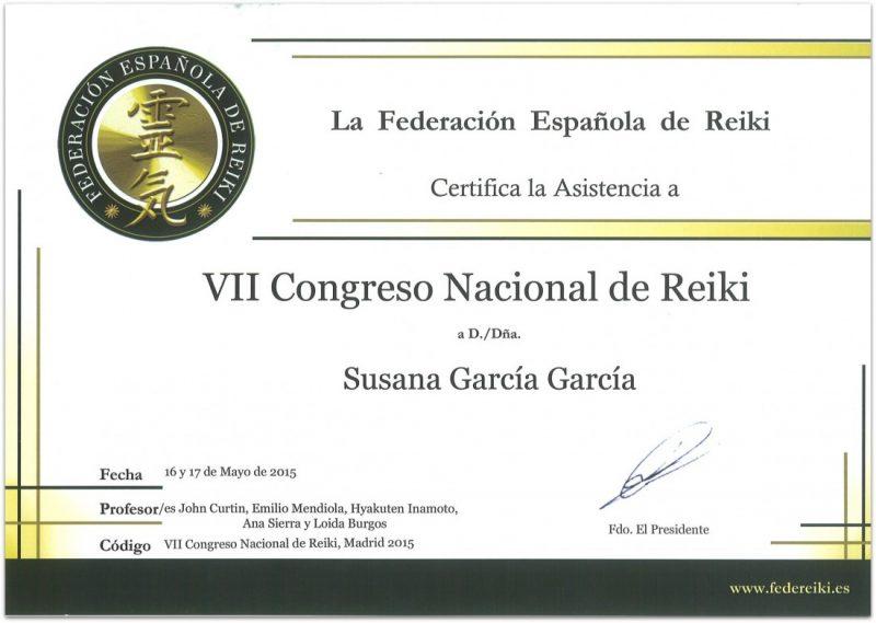 Crónica del VII Congreso Nacional de Reiki