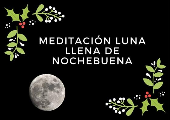 Meditación Reiki de luna llena en Nochebuena