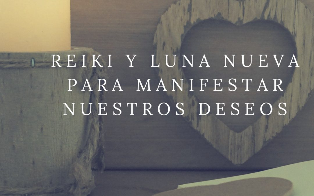 Reiki para la luna nueva: carta de manifestación
