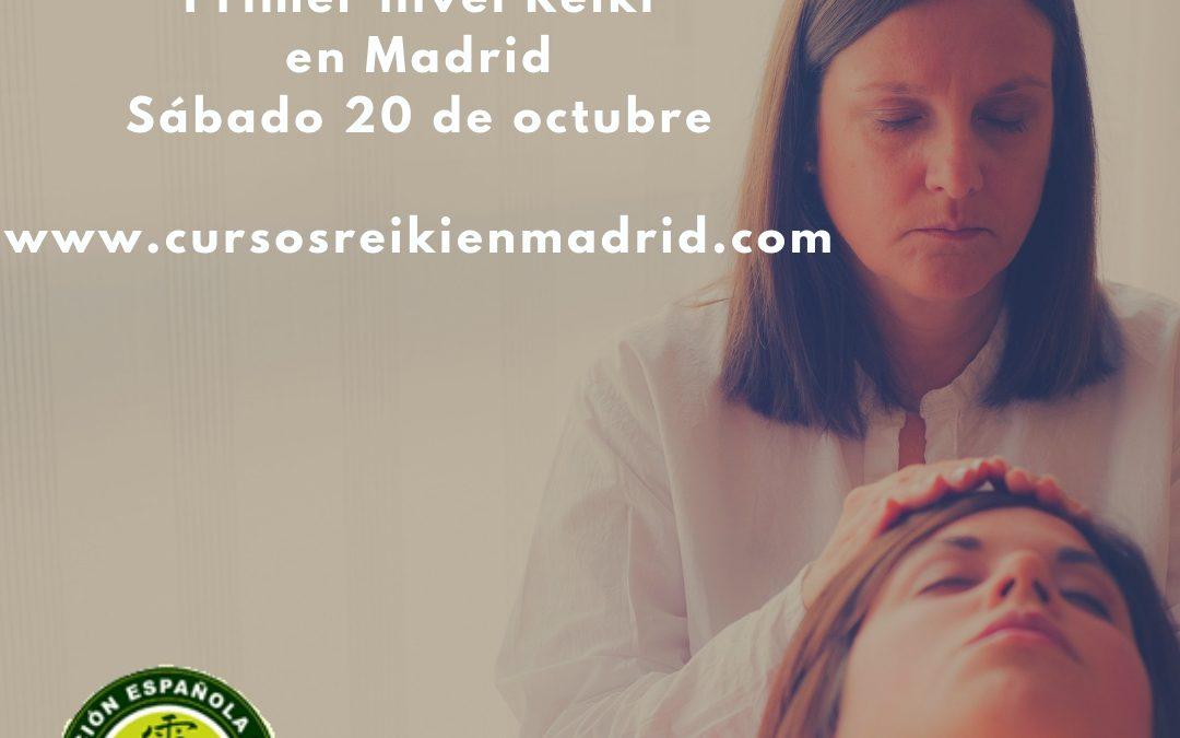 Curso primer nivel de Reiki en Madrid