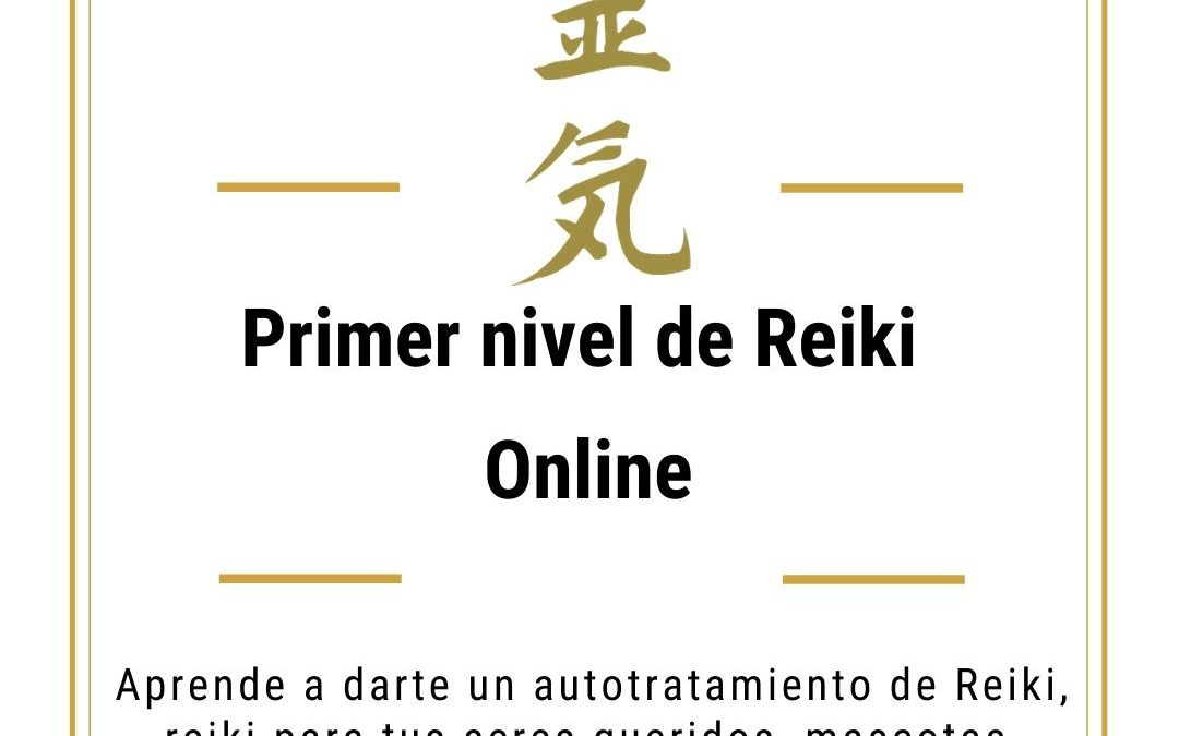 Primer nivel de Reiki online