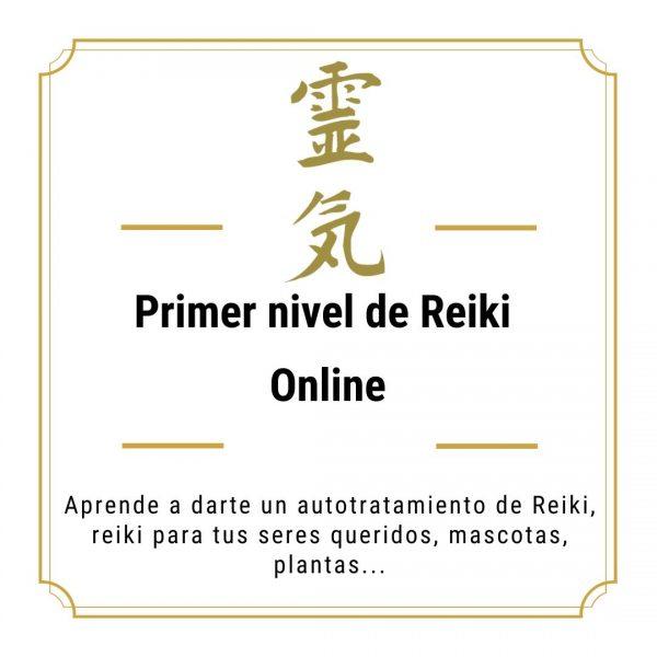 Primer nivel Reiki online